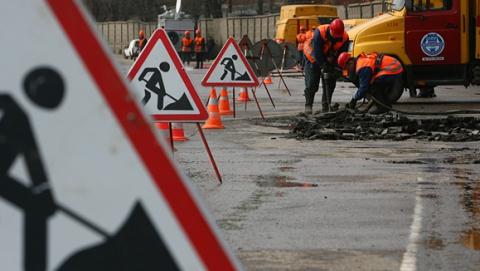 В Саратове продолжается ремонт улицы Чернышевского и дороги на Усть-Курдюм