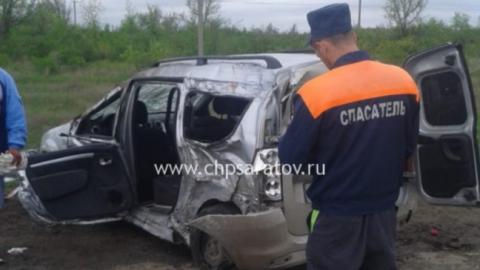 В Ершовском районе скончался один из пострадавших в ДТП с фурой