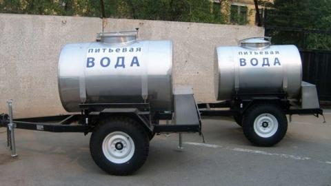 В центре Саратова огранизовали подвоз питьевой воды