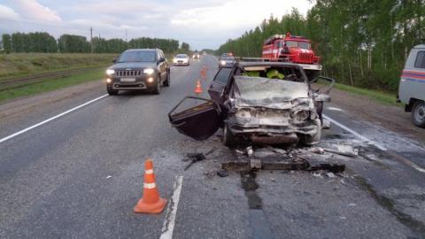 Двое саратовцев погибли в аварии с фурой в Тамбовской области