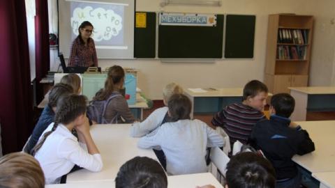 В школе рабочего поселка Ровное прошли экологические интерактивные уроки