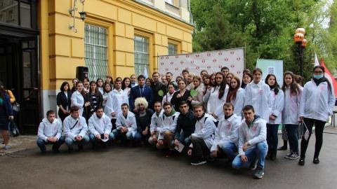 Активисты СГМУ провели межвузовский День донора