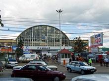 В Саратове у Сенного рынка искали бомбу