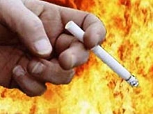 На сгоревшем диване обнаружено тело курильщика