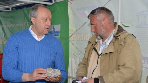 Валерий Радаев нашел останки древнего моллюска под Красноармейском
