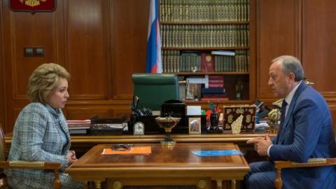 Валерий Радаев обсудил с Валентиной Матвиенко перспективы развития Саратовской области