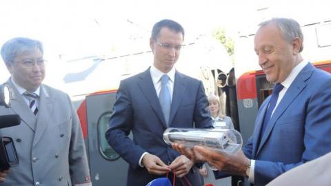 Валерий Радаев участвовал в презентации новых пассажирских вагонов ПривЖД