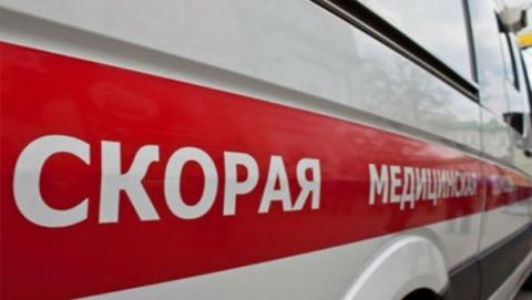 Иностранная машина  выехала натротуар исбила женщину