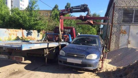 """В Саратове у парня арестовали взятый в кредит автомобиль """"Шевроле"""""""