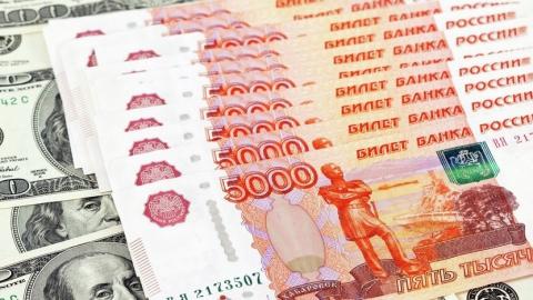 Курс российского рубля продолжает снижаться