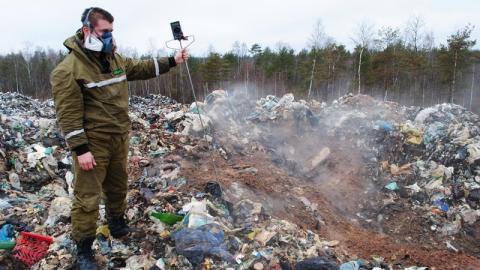 В Балашове из-за тления свалки ввели режим повышенной готовности