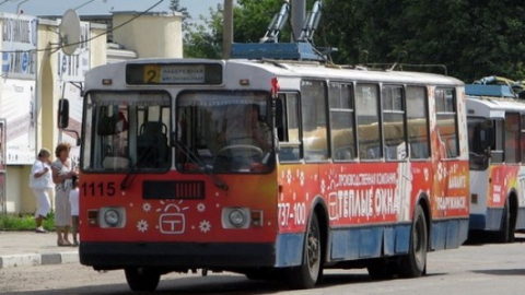 В Саратове из-за работ энергетиков приостановлено движения троллейбусов