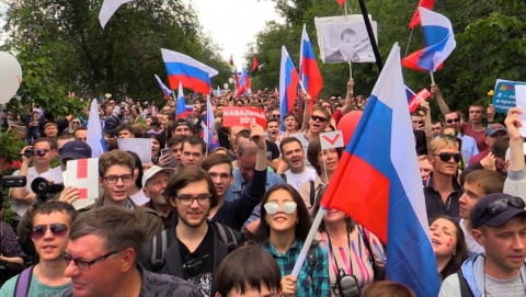 Саратовская область оказалась среди самых протестующих регионов