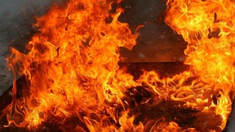 В Татищево на пожаре женщина погибла до приезда скорой
