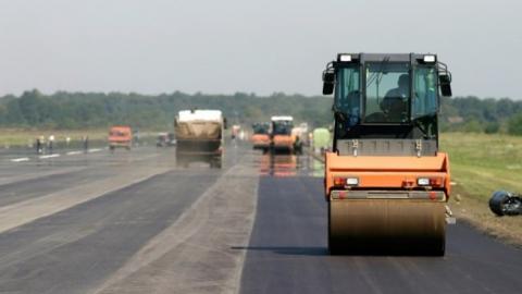 Ремонт участка трассы на Усть-Курдюм закончат раньше срока