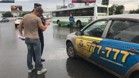 В Саратове задержали пять нелегальных таксистов