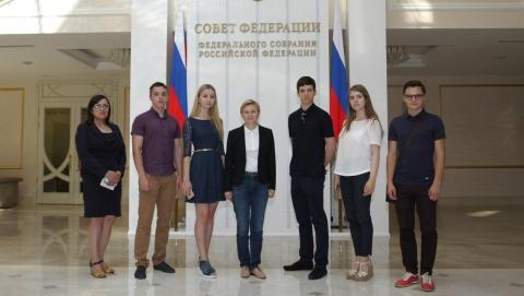 """""""Ростелеком"""" организовал экскурсию для саратовских школьников в Совет Федерации"""