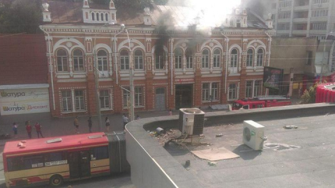 Стала известна причина возгорания саратовского Дома художника