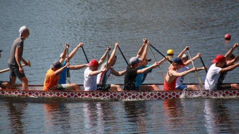 В Энгельсе проходят Всероссийские соревнования по гребле на байдарках и каноэ