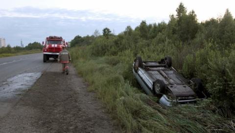 Две женщины погибли в вылетевшей в кювет легковушке под Саратовом