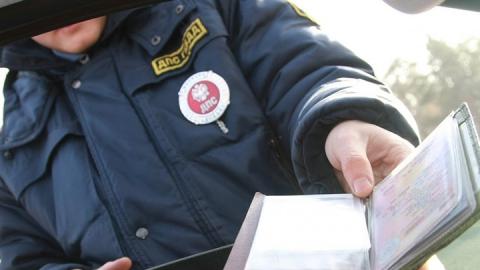 В Саратове задержали мужчину с распечатанными на принтере водительскими правами