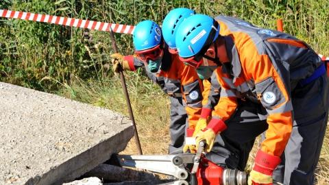 Спасатели Балаковской АЭС успешно прошли проверку готовности к нештатным ситуациям