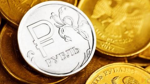 Российский рубль продолжает укрепляться по отношению к доллару