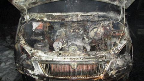 В Саратове сгорели две машины местных бизнесменов