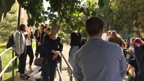 В Саратове эвакуировали студентов СГУ и медицинского университета