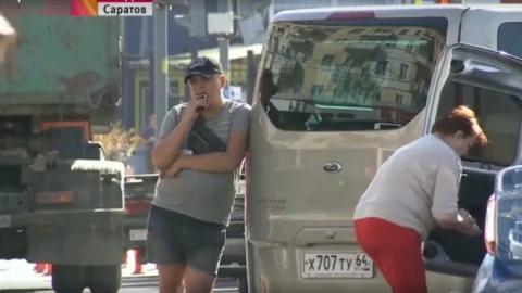 """""""Первый канал"""" показал проблему с нелегальными перевозчиками на примере саратовского вокзала"""