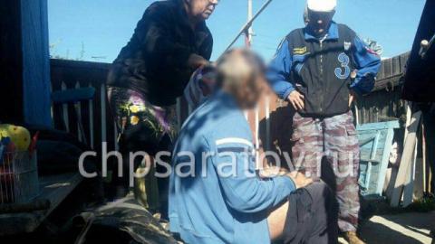 Спасатели вытащили оказавшегося под землей жителя поселка Комсомольский