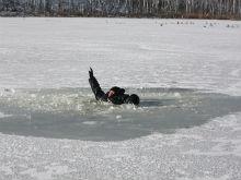 Житель Вольского района провалился под лед