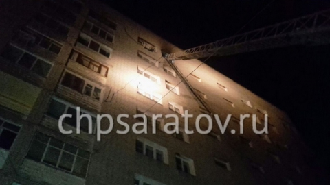 В Саратове из горящей десятиэтажки эвакуировали кошек и 30 человек