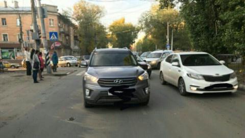 """В центре Саратова """"Хундай"""" на переходе сбил мужчину"""