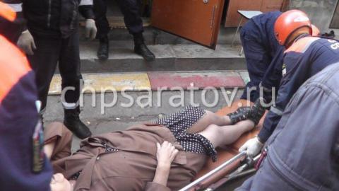 В Саратове пожилая женщина провалилась в погреб
