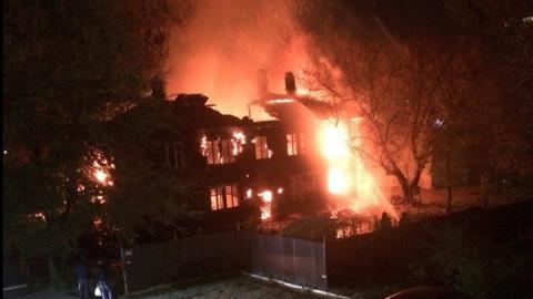 Очевидцы пожара на Огородной подозревают поджог ради ритуала с жертвоприношением