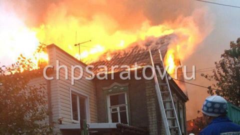 Вовремя пожара наулице Хвалынской умужчины обгорела голова