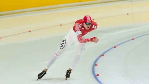 Саратовский конькобежец опередил олимпийского чемпиона на соревнованиях в Подмосковье