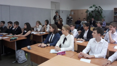 Людмила Бокова провела для саратовцев урок безопасности в сети Интернет