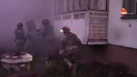 ФСБ обнародовала видео захватов активистов «Артподготовки*