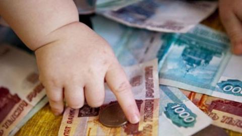 Мать задолжала своему ребенку 300 тыс. руб. поалиментам
