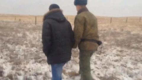 В Дергачах иностранец пешком пересек государственную границу