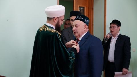 Эдуард Ганеев удостоился награды из рук муфтия Республики Татарстан