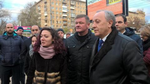 Радаев призвал следить за шахматными столами на бульваре на Рахова