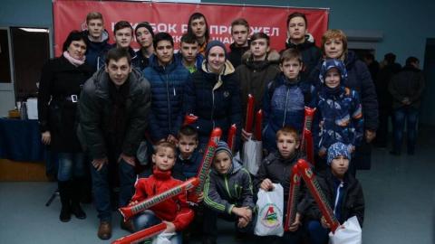 Саратовец ищет поддержки в развитии хоккея для детей-инвалидов