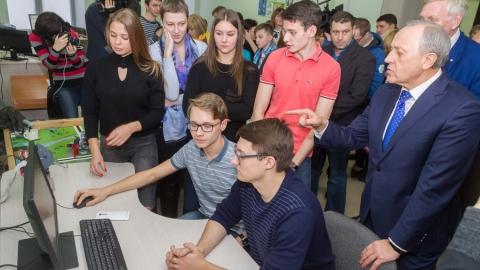 Гагаринский университет на Салоне инноваций презентовал научно-информационный центр