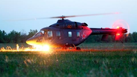 ВВоенно-воздушную академию поступит 5 новых вертолетов Ансат-У доконца месяца