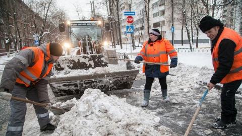 Администрация заявила о готовности к надвигающемуся снегопаду