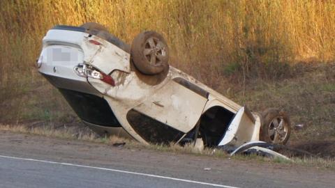 Ночью вСаратовской области вДТП погибла женщина-водитель