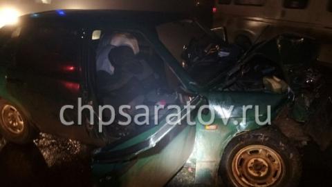 Четыре человека пострадали в аварии на трассе под Саратовом